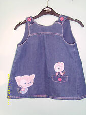 NEXT 100% Cotton Embroidered Dresses (0-24 Months) for Girls