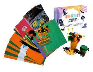Edukit Spooky Craft Kit – 700 Pieces – For Halloween – Inc 3 Free Project Ideas
