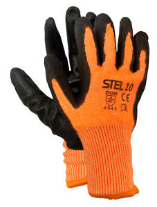 Cut Level 5 Thermal Winter Gloves Pack 5 - LARGE