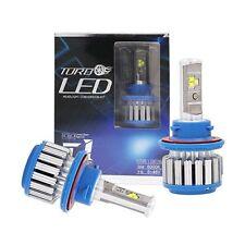 H13 9008 Hi/Lo Beam Turbo LED Headlight Bulb Fog Light 80w 6000k White Canbus