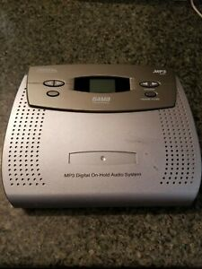 6500 MP3 digital MUSIC ON HOLD PLAYER 4 PBX & KSU 64 MB On-hold w/power cord