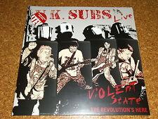 U.K. SUBS  -  Violent State + The Revolution´s Here  /  2 LP - RED - VINYL - RSD