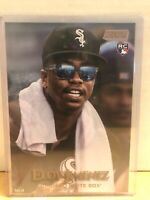 Eloy Jimenez RC 2019 Topps Stadium Club 5x7 Gold #79 #6/10 White Sox