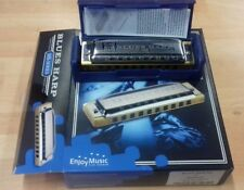 Hohner Marine Band diatonic harmonica, key of E, brand new boxed item with case