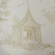 3.5 Metres Chivasso Whispers Garden Curtain Craft Fabric 100% Linen