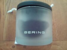 Bering watch glass case and pouch