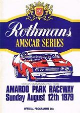 1979 AMAROO PARK RACE MEETING DICK JOHNSON XC A3 POSTER AD ADVERT ADVERTISEMENT