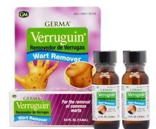 2 VERRUGUIN Skin Wart Remover Salicylic Acid 17% Removedor de Verrugas 10 oz