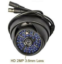 "Sunvision 1200TVL HD Outdoor 1/3"" Sony CMOS 48 IR 2MP Lens Dome Camera (36Bb)"