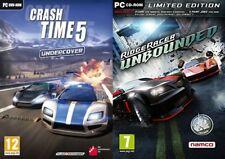 Crash Time 5 Undercover & Ridge Racer ungebundenen Limited Edition NEU & VERSIEGELT