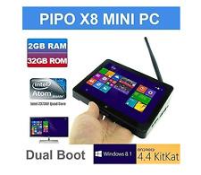 Pipo X8 TOZO Wifi 2G RAM 64GB ROM Tablet Mini PC Desktop Laptop TV Box Intel ...