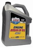 LUCAS HIGH ZINC ENGINE-BREAK IN OIL 20W  5 QUART CONTAINER #10627