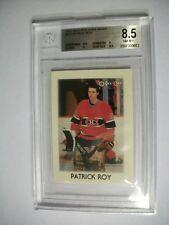 PATRICK ROY 1987-88 O-Pee-Chee Minis #36 BGS NM-MT+ 8.5