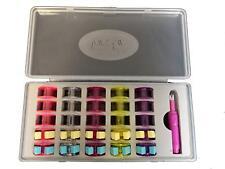 Sew Mate Bobbin Box Kit Includes Ø21mm Bobbins, Bobbin Clips and Needle Threader