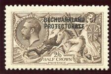 "Bechuanaland 1913 KGV ""Seahorse"" 2s 6d deep sepia-brown MLH. SG 83. Sc 92."