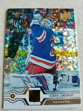 Henrik Lundqvist 2019-20 Upper Deck Series 1 Speckled Rainbow Foil #90 Rangers!
