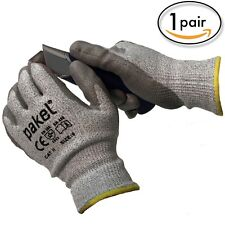 Pakel EN 388 Level 5 High Performance Cut Resistant Gloves Size 7 (Small)