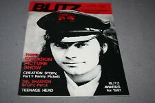 BLITZ THE R´n´ROLL MAG FOR THINKING PEOPLE# 42  -  ROKY ERICKSON COVER (1982)