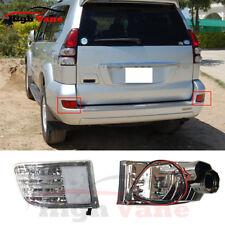2Pc Rear Bumper Reflector lamp Fog Light Fit For 02-09 Toyota Land Cruiser LC120