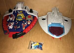 Manta Force Command Ship Vintage Bluebird Toy - Has all it's ships