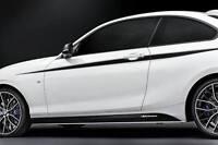 BMW NEW GENUINE F21 F22 F23 M PERFORMANCE PIN-STRIPES ACCENT 51142406145