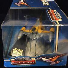 Star Wars Micro Machines Naboo Star Fighter en Caja flota de acción de juguete