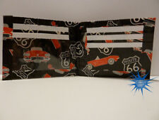 Duct Tape Wallet with Route 66 pictures all over it Handmade