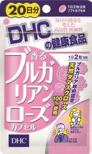 DHC Bulgarian Rose Scented Supplement 40 Tablets 20 days Japan F/S