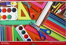 New 500 Piece Jigsaw Puzzle (School Supplies)