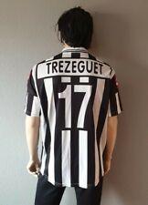 Nº17 Trezeguet Juventus 2001-2002 Camiseta Futbol Lotto Fastweb Shirt Maglia