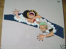 ONE PIECE  ZORO / LUFFY ANIME PRODUCTION CEL 3