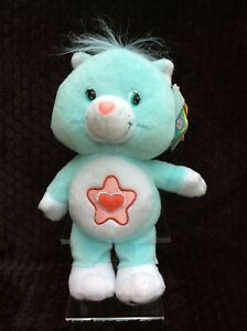 """NWT Care Bear Cousins Proud Heart Cat 10"""" Collector's Edition 2003 Series 2 RARE"""