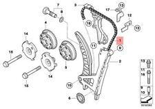 Genuine BMW E46 E60N E81 E82 E83 E83N E84 Engine Timing chain OEM 11348649768