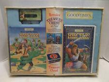 Hercules Treasure Chest Of Fun Good Times Book Audio & Video Cassette NIB 1997!