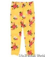 Gymboree Friendship Camp Flower Leggings Yellow Orange Size 3 NWT