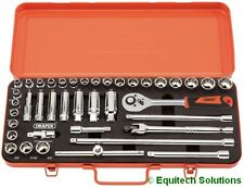 "Draper Tools 15402 Socket Set 3/8"" Drive Metric Imperial MM/AF Retro Edition"