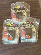 Lot of 10 COBY CX-12 All Weather Pocket AM/FM Radio w/Earphone *Wholesale