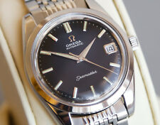 OMEGA SEAMASTER DATE ORIGINAL BLACK DIAL SERVICED Automatic 562 Vintage Watch