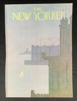 COVER ONLY ~ The New Yorker Magazine, August 18, 1980 ~ Charles E. Martin