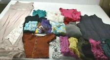 Wholesale Bulk Lot of 20 Women's Size Large Tops Outerwear Formal Mixed Seasons