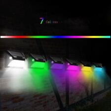 1.3W 12LED Solar Doble Cabeza PIR Sensor de Movimiento  Lámpara de Pared