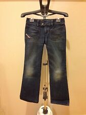DIESEL INDUSTRY JEANS PANTS FOR WOMEN, SIZE 28 RN93243 CA25594, MADE IN ITALY
