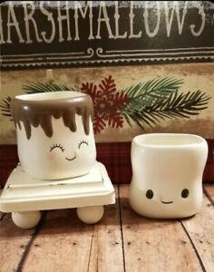 Authentic 180 Degrees  Marshmallow Shaped Ceramic  Mugs Set of 4