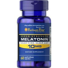 Melatoni 10 mg 60 capsules Puritans Pride - fast delivery to European countries