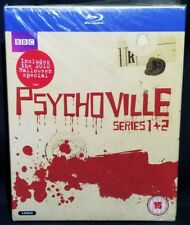 Psychoville: Series 1 & 2 Blu-ray (4-Disc Set, BBC) - NEW REGION ALL *DAMAGED