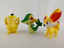 Psyduck Fennekin Snivy Pokémon X and Y Moving Toys 2016 McDonald's Happy Meal