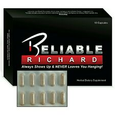 Reliable Richard #1 Erectile Dysfunction Pill, Erectile Dysfunction - Get Hard!