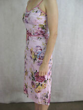 Jiva Size 10 Light Pink Cotton Party Dress