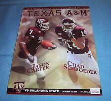 Texas A&M vs Oklahoma State Football Game Program Magazine 2005