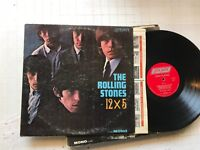THE ROLLING STONES 12 X 5 LP LONDON 12x5 vinyl MONO 1A/1A etches w/inner LL3402!